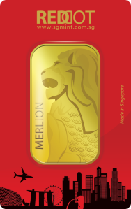 1 oz. 9999 Gold Merlion