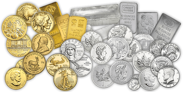 Buy gold and silver bars